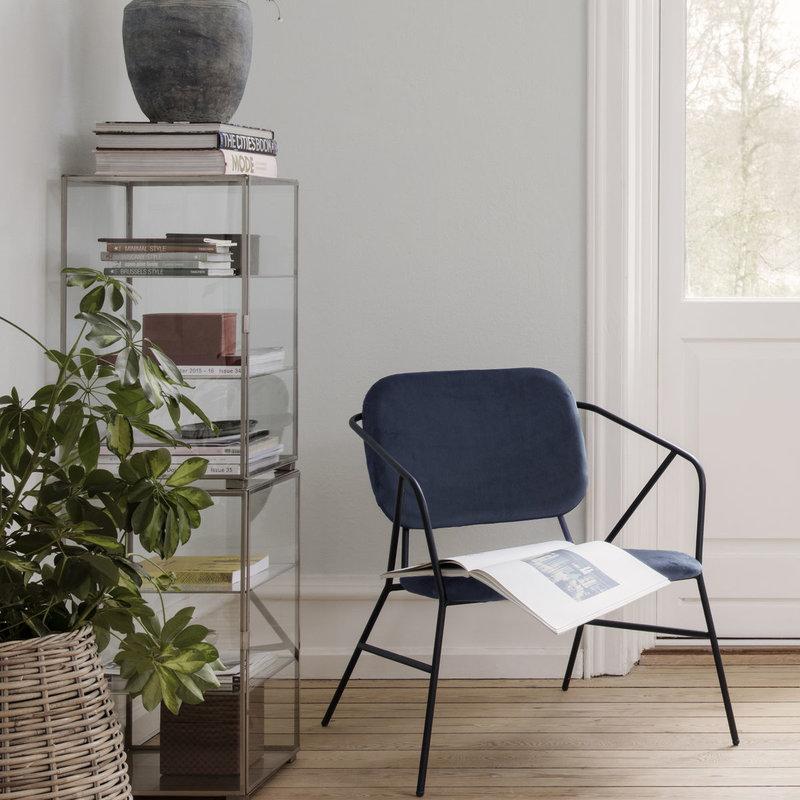 House Doctor Lounge stoel Klever, grijs