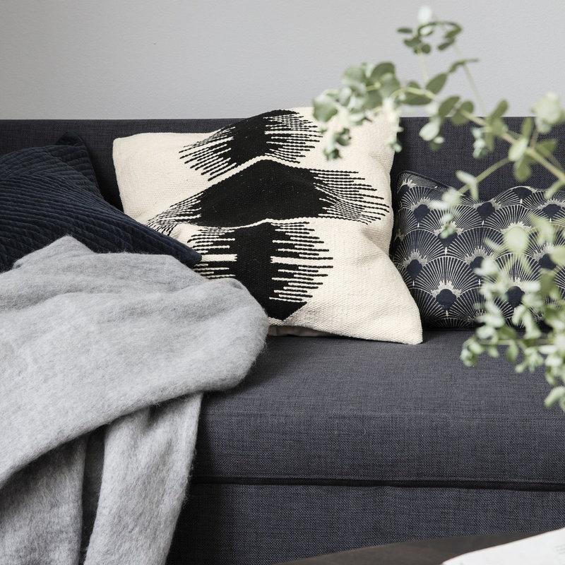 House Doctor Pillowcase, Ginea, Off-White