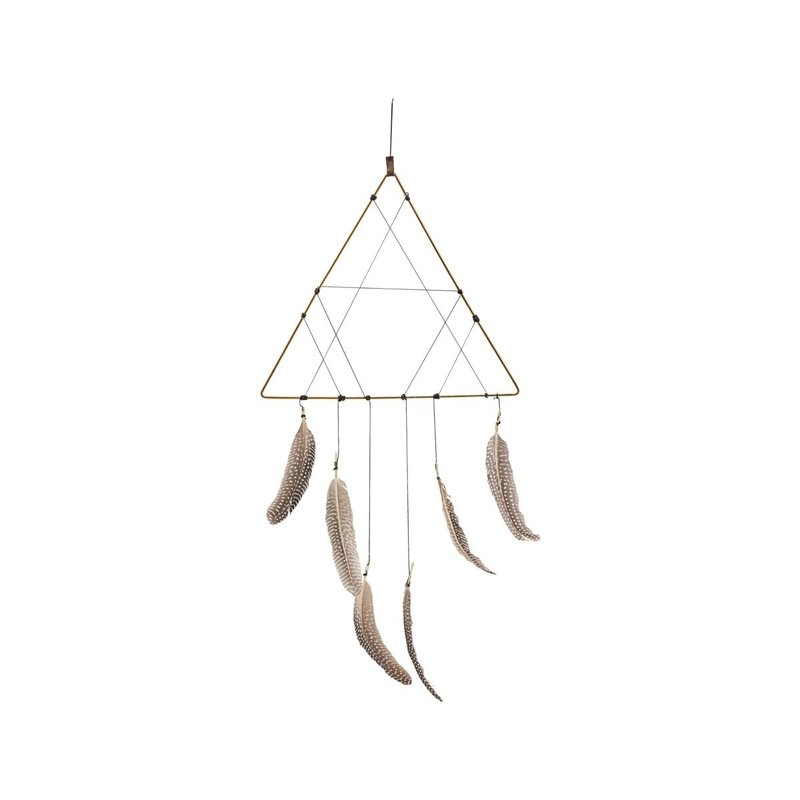 House Doctor Dreamcatcher, Gold