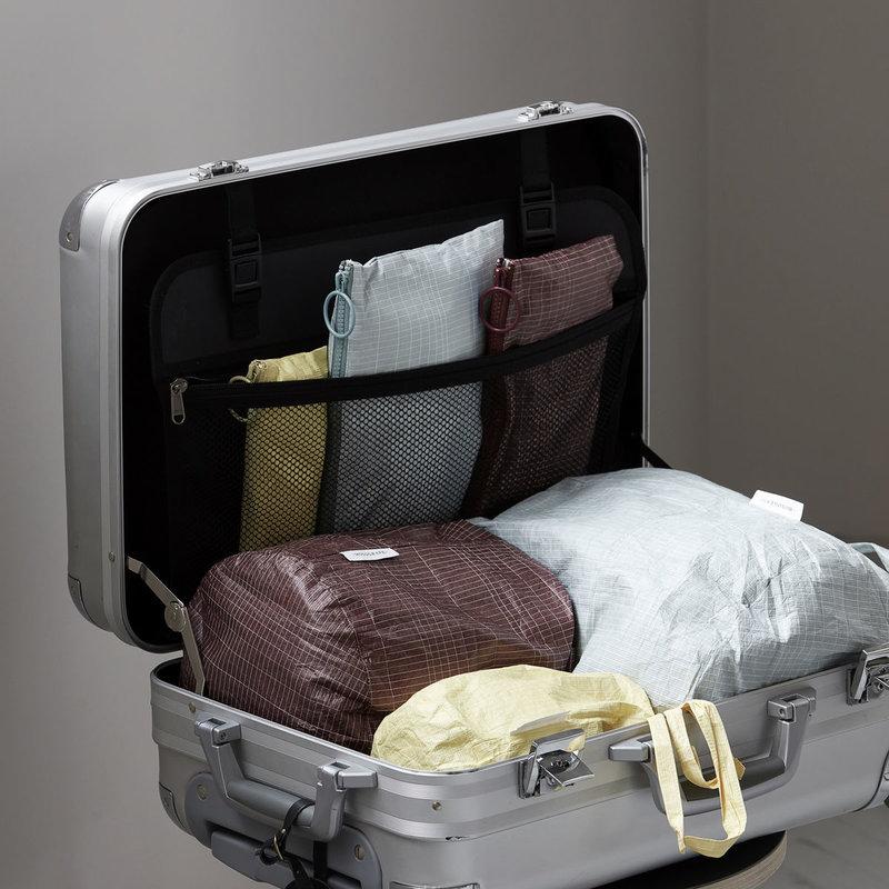 Monograph Bag/storage, Travel, Yellow, Green, Bordeaux, Set of 3 sizes