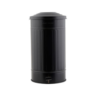 House Doctor Garbage bin, Matte black, 24 Liters