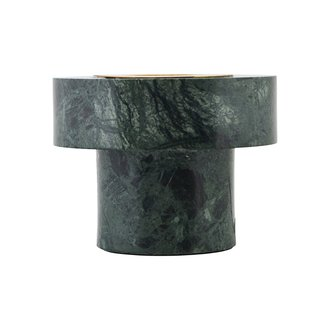 House Doctor Table lamp, Pin, Green marble, E27, Max 40 W, 2 m cable