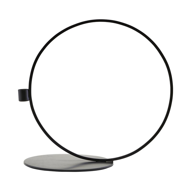 House Doctor Candle stand, Cirque, Black