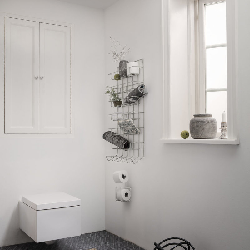 House Doctor Toilet paper holder, Via, White