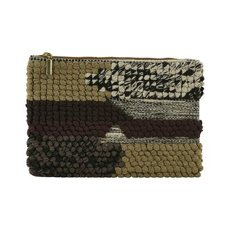 House Doctor Clutch, Combo 1, Green/Brown