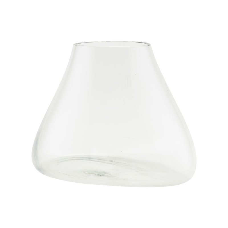 House Doctor Vase, Terrarium, Clear