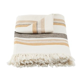 House Doctor Plaid, Marly, Off-White
