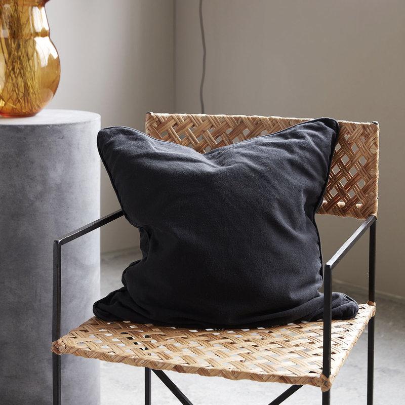 House Doctor Cushion cover, Alwar, Black