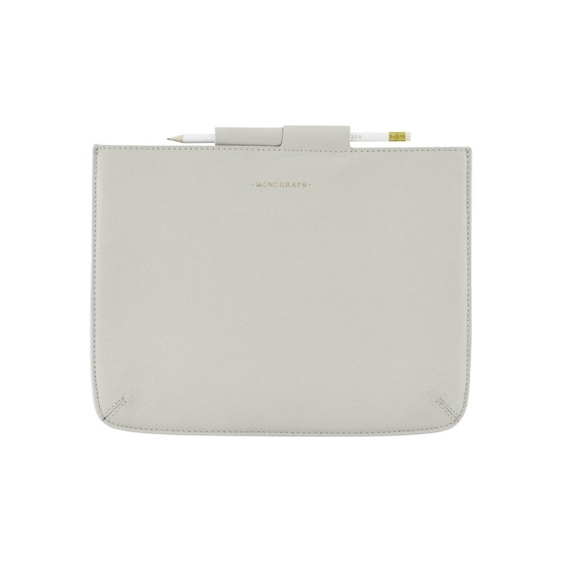 Monograph Sleeve, Ipad, Grey