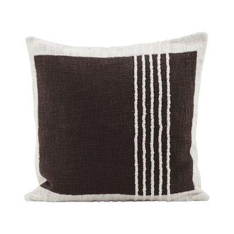 House Doctor Kussenhoes Yarn, bruin