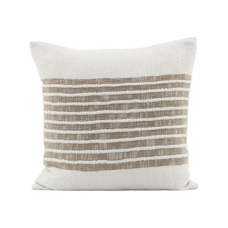 House Doctor Cushion cover, Yarn, Light brown