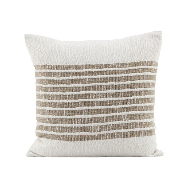 House Doctor Cushion cover, Yarn, Light brown