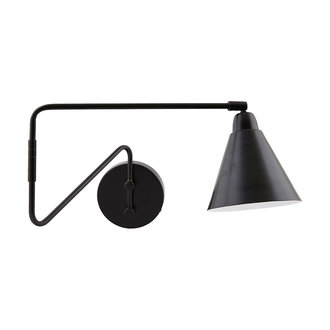 House Doctor Wall lamp, Game, Black, E14, Max 25 W, 2.20 m cable