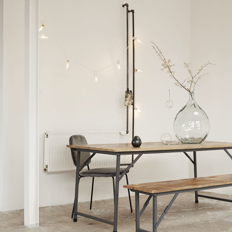 House Doctor Dining table, Party, Nature, Foldable