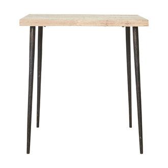 House Doctor Table, Slated, Iron