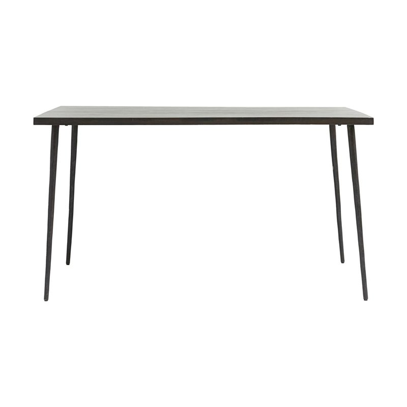 House Doctor Dining table, Slated, Black