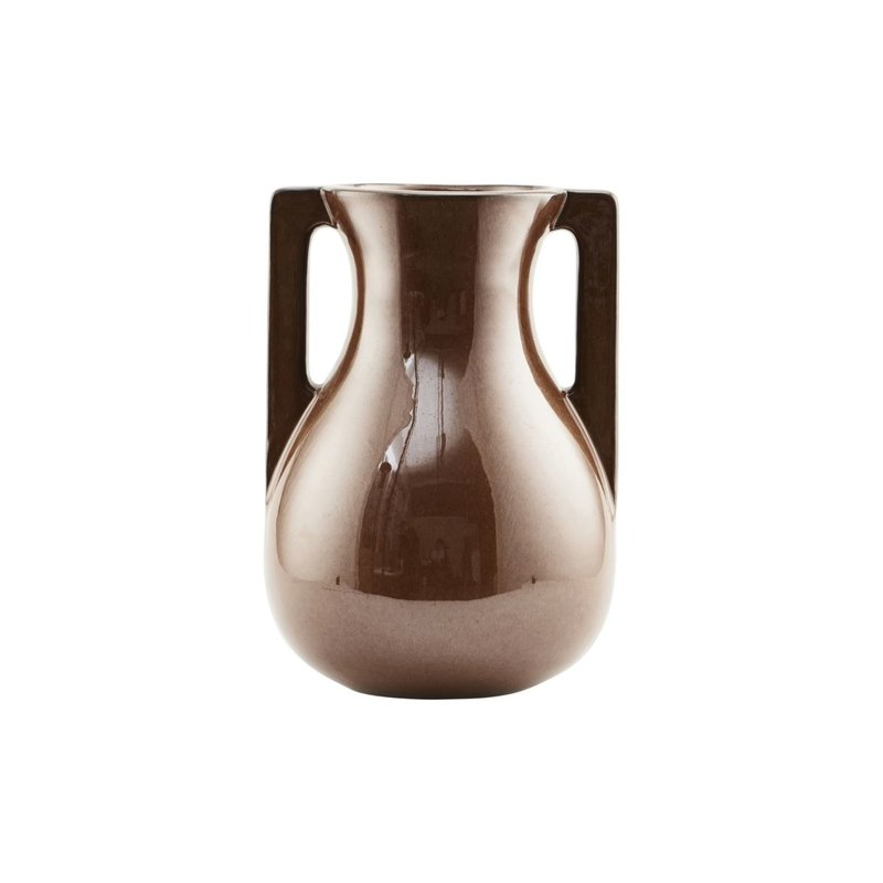 House Doctor Vase, Mississipi, Brown, Finish/Colour may vary