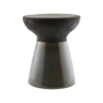 House Doctor Stool, Pablo, Green/Brown, Finish/Colour may vary