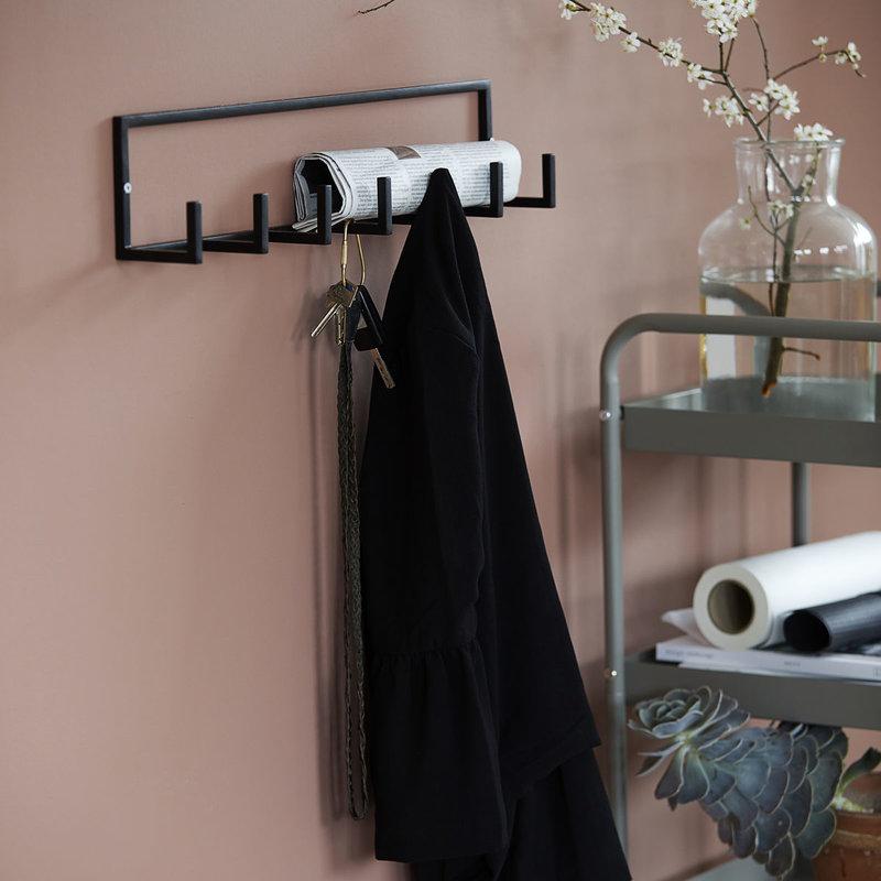 House Doctor Coat rack, Rack, Black