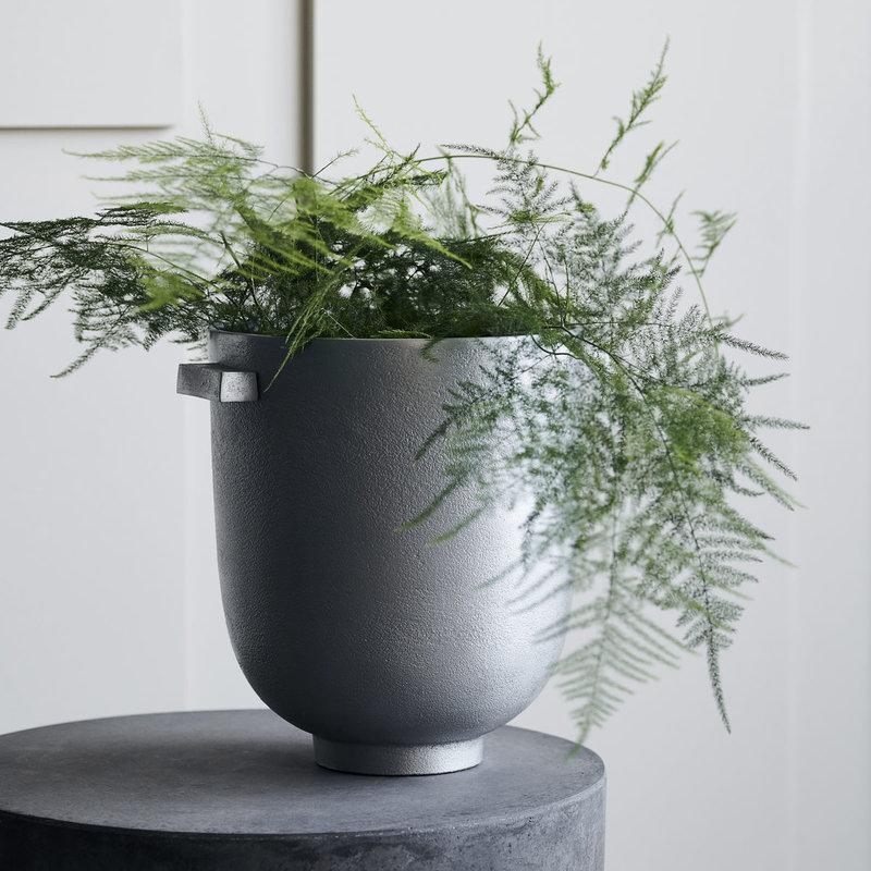 House Doctor Planter, Foem, Raw aluminium, Finish/Colour may vary