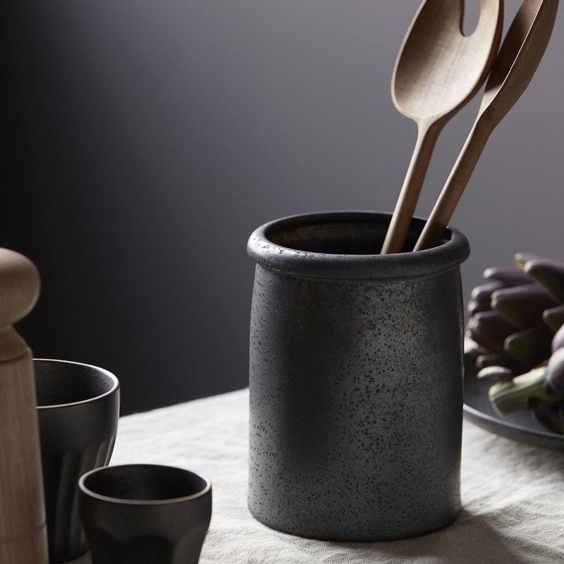 House Doctor Jar, Pion, Black/Brown