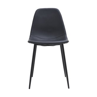 House Doctor Chair, Found, Black, Seat height: 46  cm