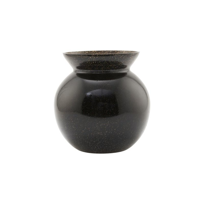 House Doctor Vase, Chenna, Black