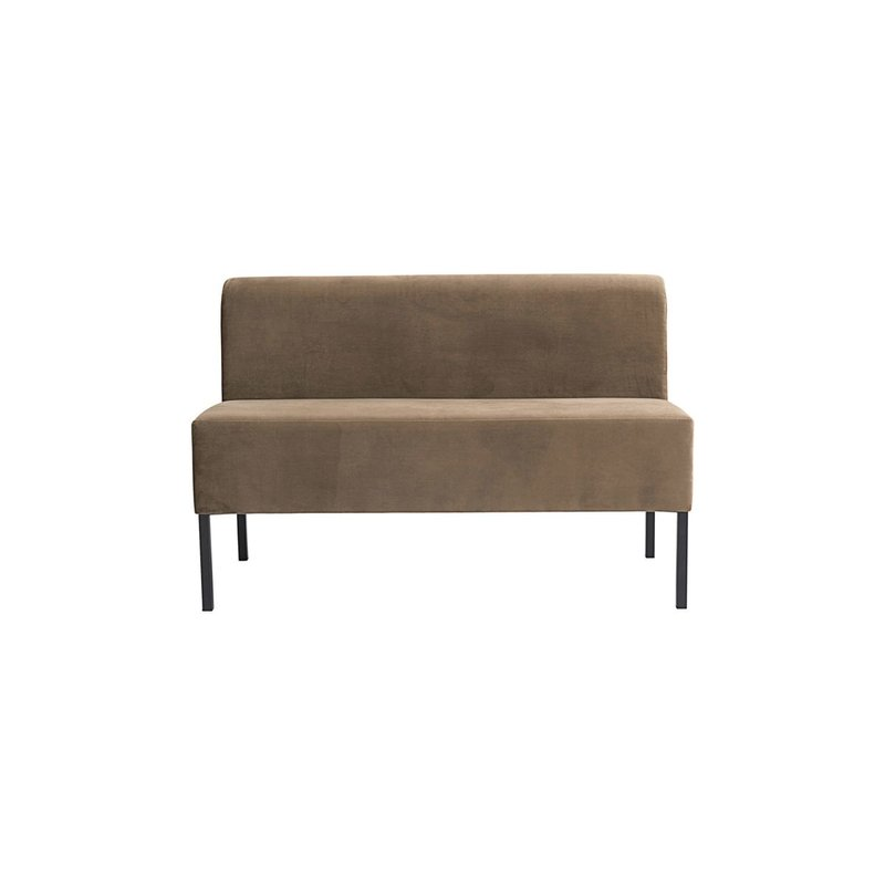 House Doctor Sofa, 2 seater, Sand, Seat height: 48 cm