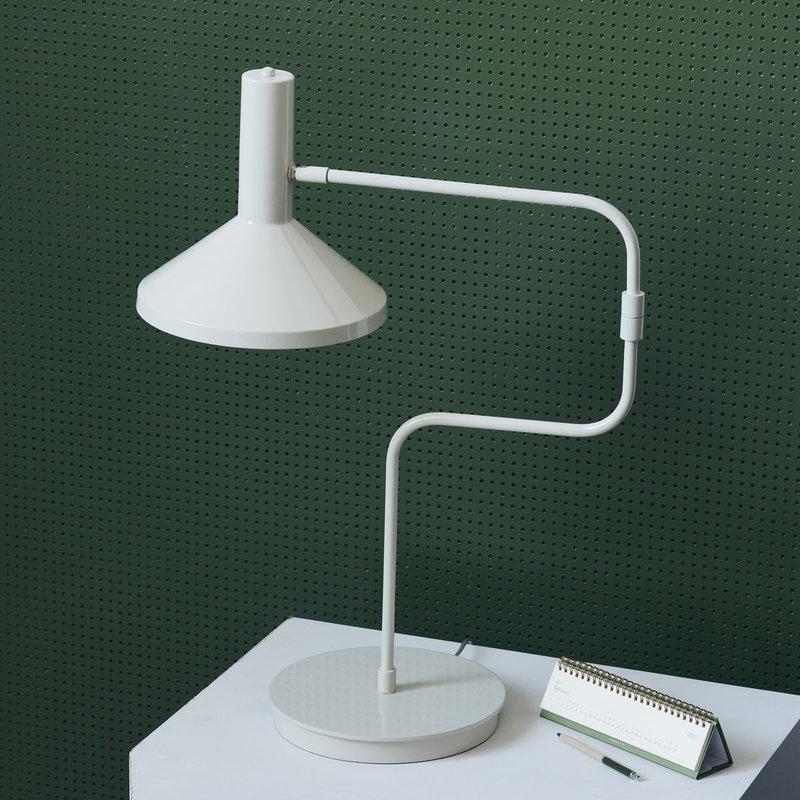 Monograph Table lamp, Desk, Ecru, E27, Max 25 W, 2.60 m cable