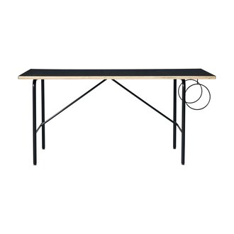 Monograph Table, Mono, Black