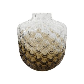 House Doctor Vase, Art Deco, Brown, Finish/form may vary