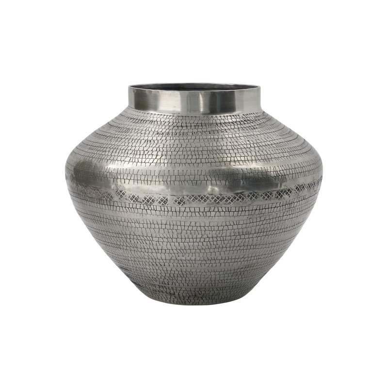 House Doctor Vase, Arti, Antique silver, Handmade, Finish/Colour/Size may