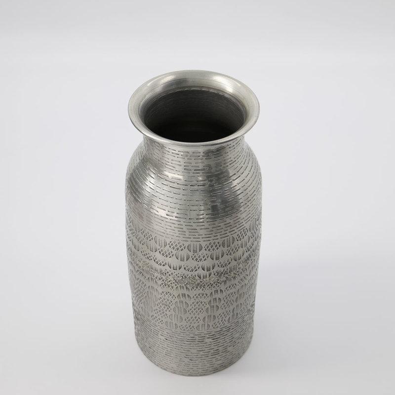 House Doctor Vase, Fenja, Antique silver, Handmade, Finish/Colour/Size ma