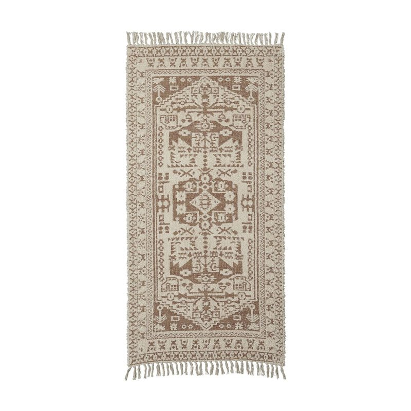 House Doctor Rug, Wowe, Beige, Finish/Colour/Size may vary, Handmade