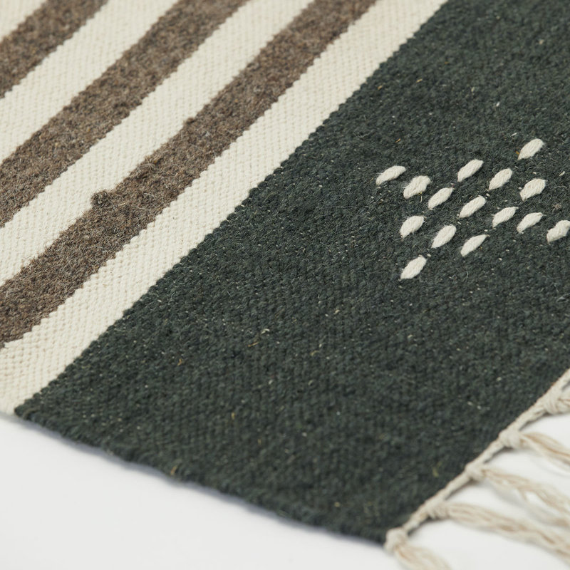 House Doctor Rug, Coto, Brown, Finish/Colour/Size may vary, Handmade