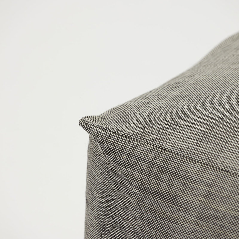 House Doctor Pouf, Tabi, Grey, Finish/Colour may vary