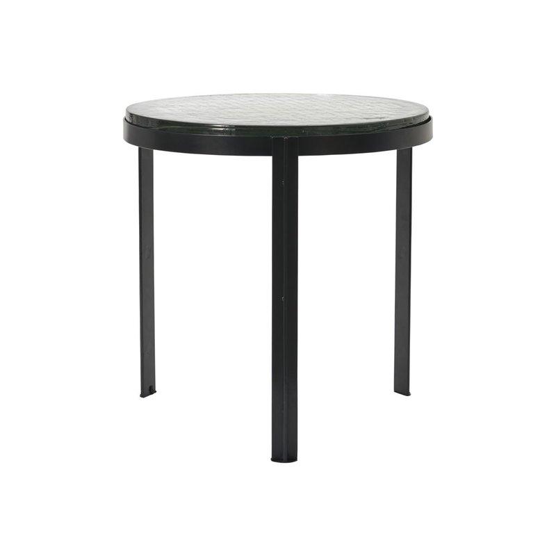House Doctor Coffee table, Smoke, Black, Handmade