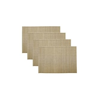House Doctor Placemat Bamb naturel set/4