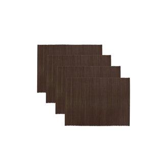 House Doctor Placemat Bamb bruin set/4