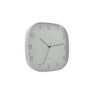 House Doctor Wall clock, Shape, Grey, (Battery AA)