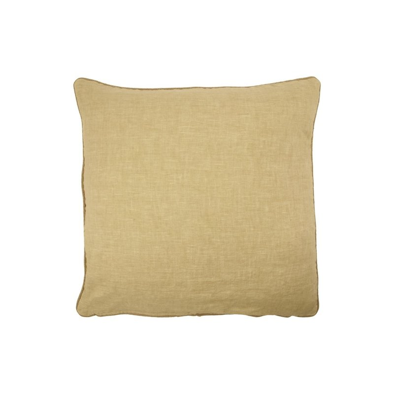 House Doctor Cushion cover, Sai, Golden brown, Finish/Colour may vary