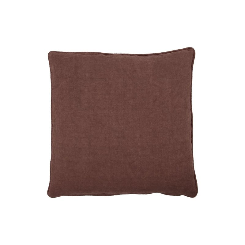 House Doctor Cushion cover, Sai, Red/Brown, Finish/Colour may vary