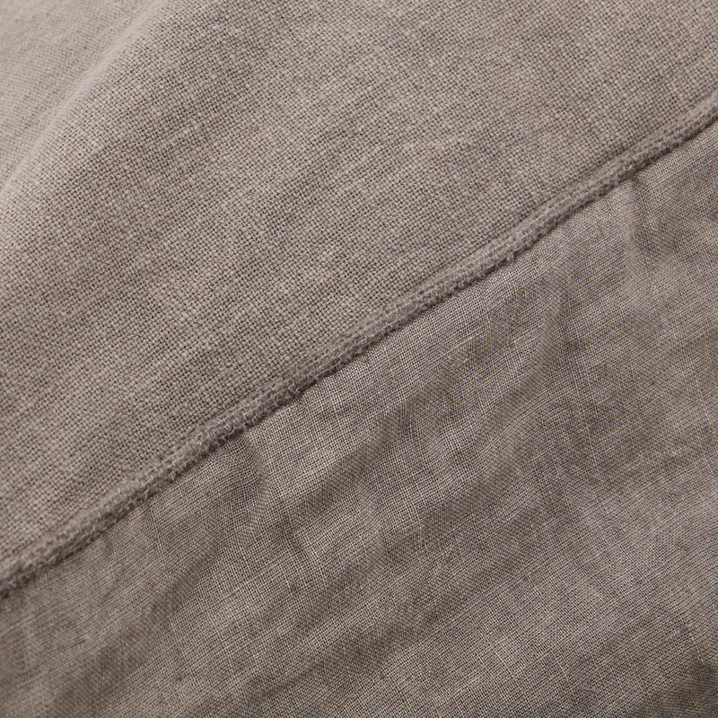 House Doctor Cushion cover, Sai, Warm grey, Finish/Colour may vary