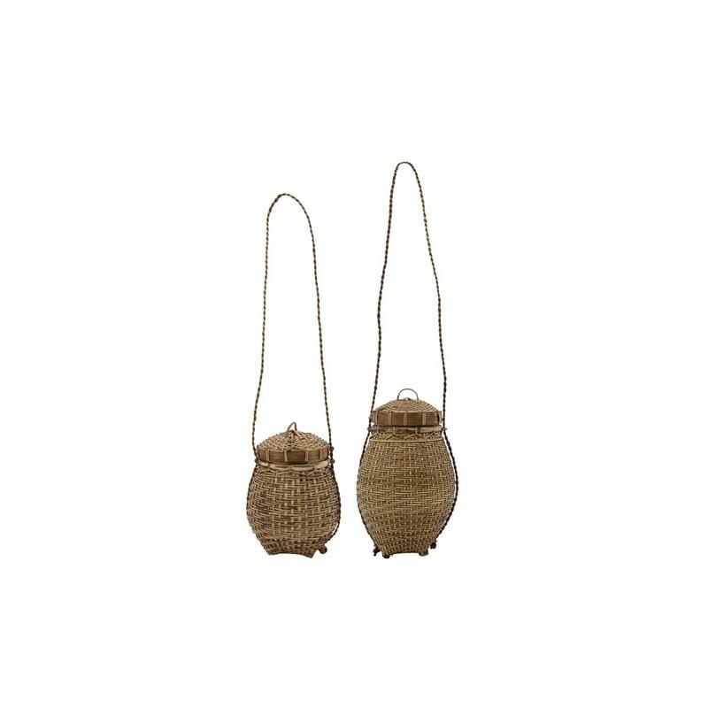 House Doctor Basket, Balie, Nature, Set of 2 sizes, Finish/Colour/Size ma