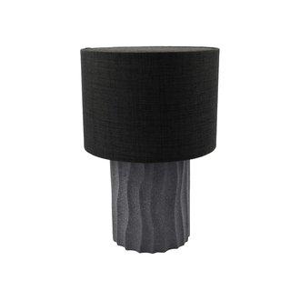 House Doctor Table lamp incl. lamp shade, Bora, Grey, G9 bulb (LED), Max