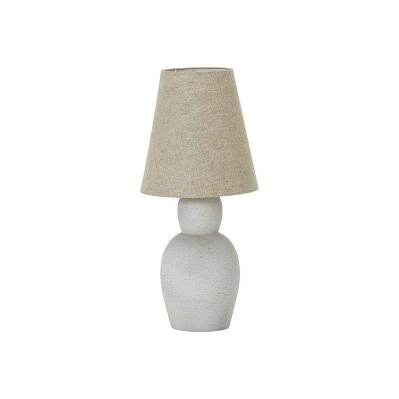 House Doctor Table lamp incl. lamp shade, Orga, Sand, E27, Max 40 W, 1.3