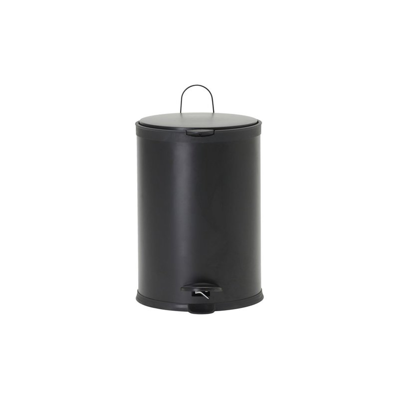 House Doctor Bin, Eda, Black, 20 liters