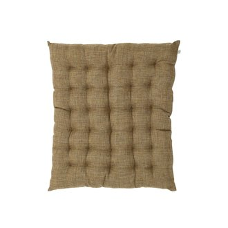 House Doctor Seat cushion w. filling, Fine, Camel