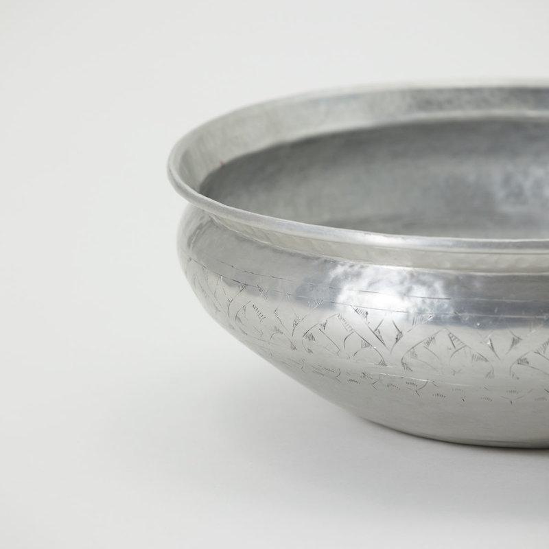 Meraki Basin, Althea, Antique silver, Handmade, Finish/Colour/Size