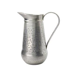 Meraki Jug, Althea, Antique silver, Handmade, Finish/Colour/Size ma